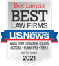 Best Lawyers - Law Firm of the Year 2021