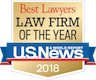Best Lawyers - Law Firm of the Year 2018