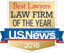 Best Lawyers© Law Firm of the Year 2018