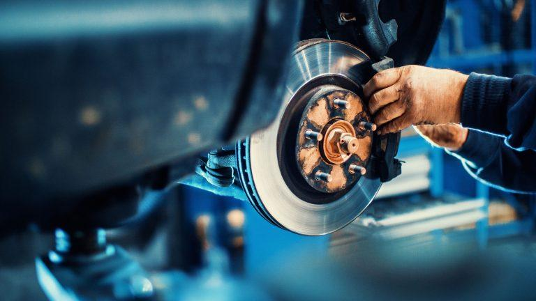 Asbestos has been found in brake and clutch repair shops