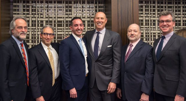 Members of W&L that joined the LeGaL, LGBT bar association of NY. This includes Gennaro Savastano, who was elected president of the board.