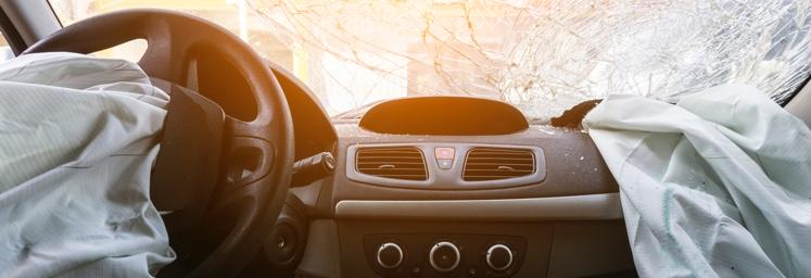 airbags deployed after car accident
