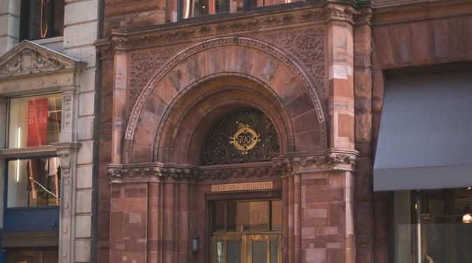 Front of Weitz & Luxenberg Building in New York, NY